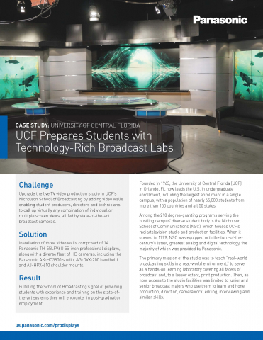 University of Central Florida Case Study