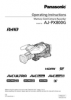 AJ-PX800 Operating Manual