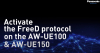 How To Activate FreeD protocol with the AW-UE100 and AW-UE150